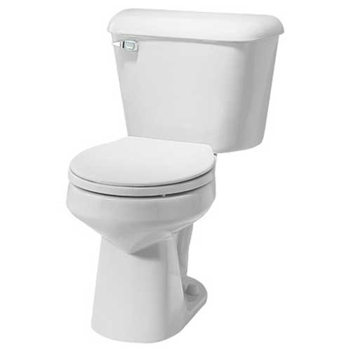 "131160-00 WHITE MANSFIELD ROUND 10"" ROUGH-IN TOILET W/1.6 Gallon TANK"