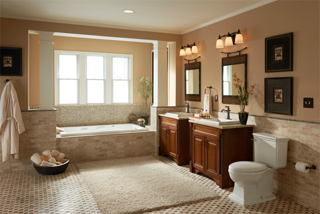 Brentwood Bathroom Collection Mansfield Plumbing