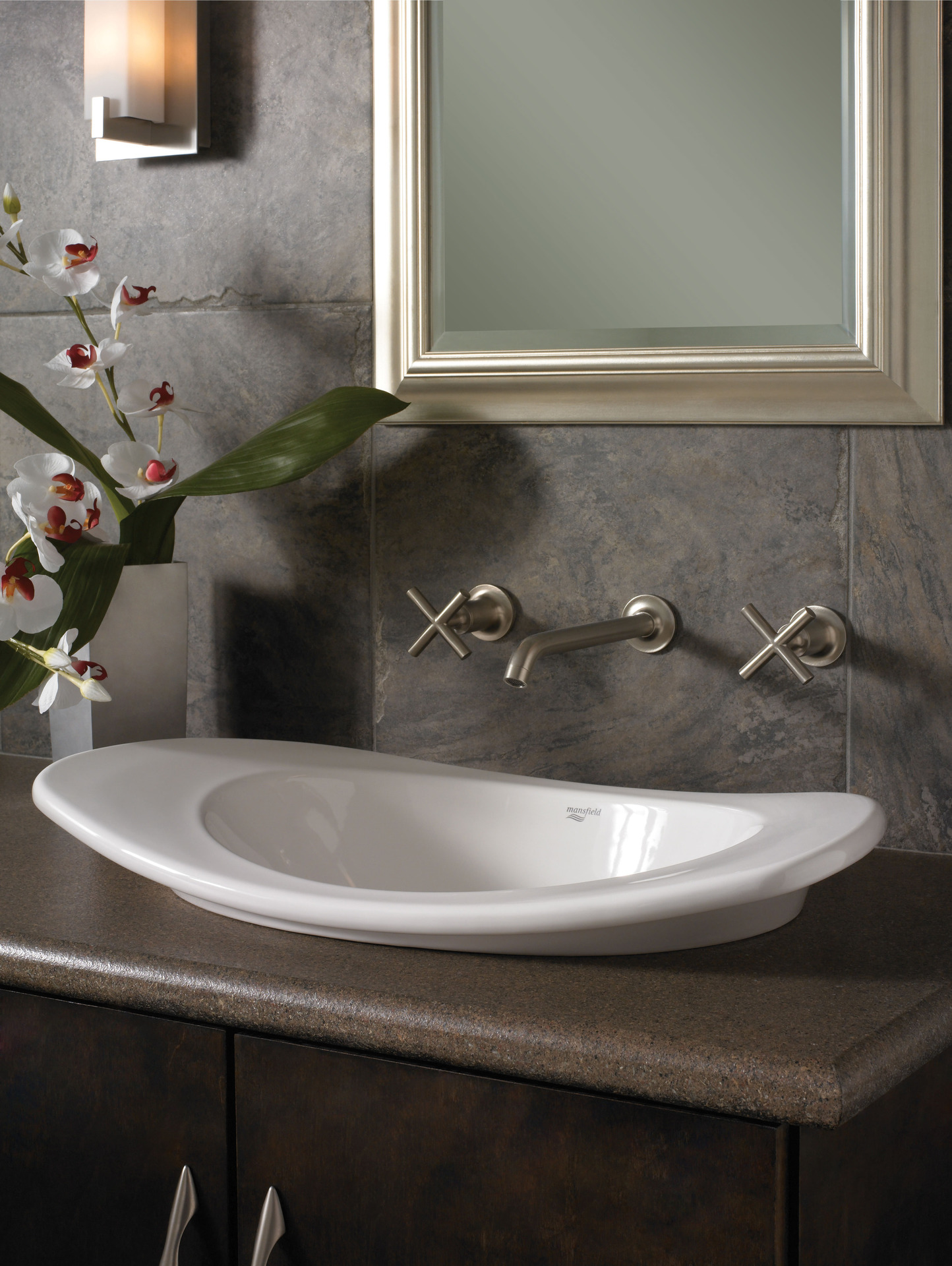Good To Make A Distinct Statement In A Bathroom, The Reo Vessel Lav Canu0027t Be  Surpassed. With Arched Sides And A Deep Oval Sink, Reo Lavs Have A  Personality All ...