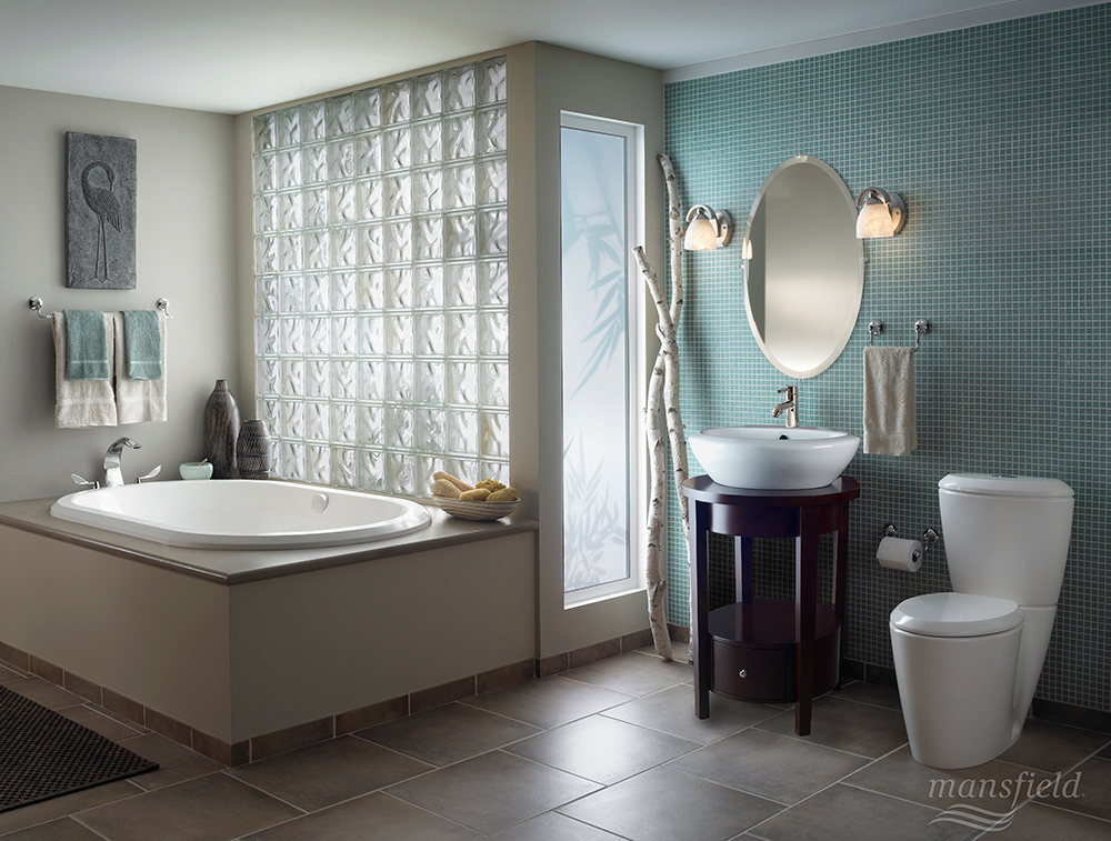 What Do You Notice? Soaking Tub, Check. Modern Bathroom Vanity And Sink,  Check. Contemporary Toilet, Check. This Enso Bathroom Collection Sets The  ...