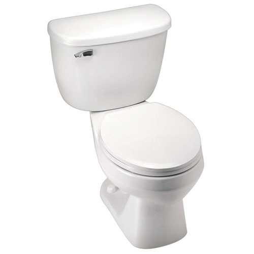 Sloan Pressure Assist Toilet