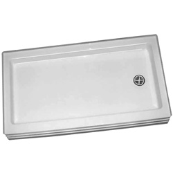 6032stls rh shower base - Shower Bases