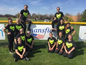 Mansfield - Pic - Ashland Softball team
