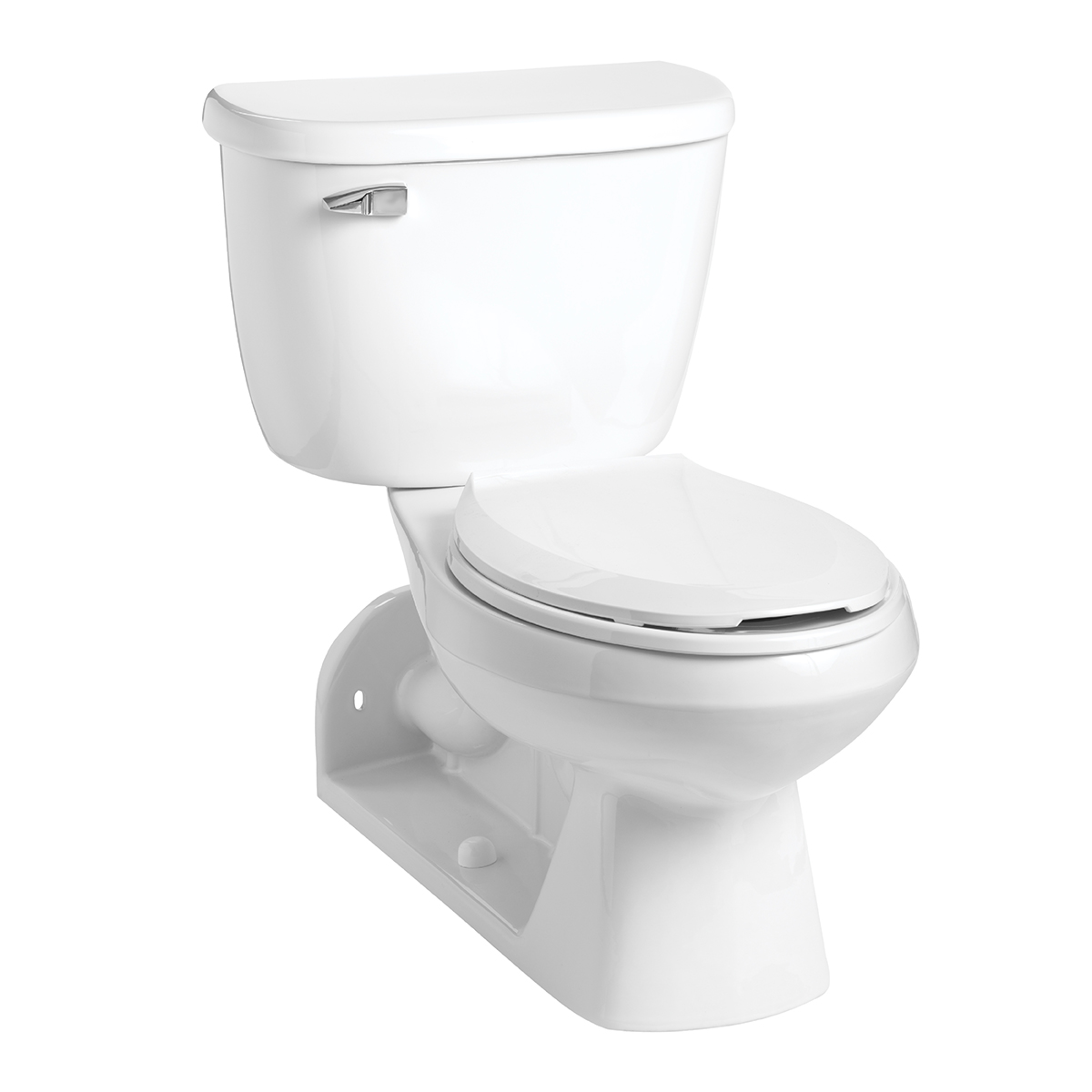 Picture of: Quantumone 1 0 Elongated Rear Outlet Floor Mount Toilet Combination Mansfield Plumbing